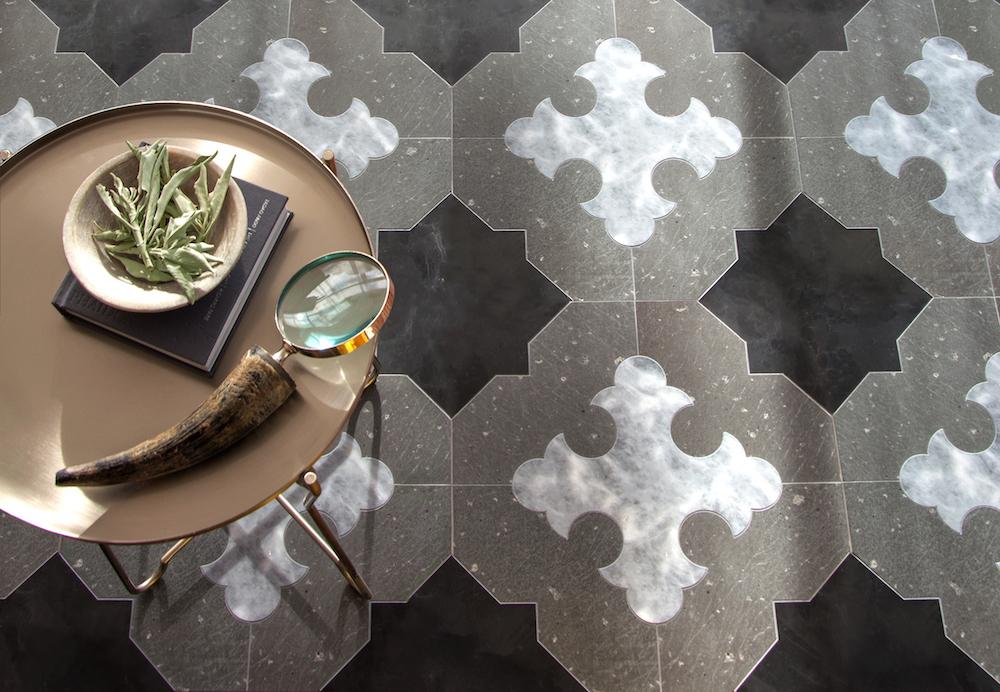 Coronel Grande stone mosaic