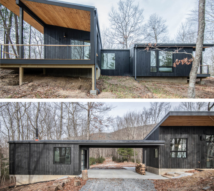Rusafova Markulis Architects, Sapphire Cabin in Sapphire, N.C.