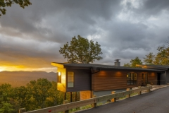 Brickstack Architects, Black Mountain Residence in Black Mountain, N.C.