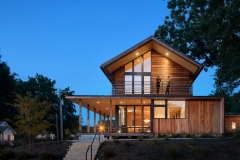 Tina Govan Architect Inc. in collaboration with ThoughtCraft Architects, Trott Residence in Durham, NC.