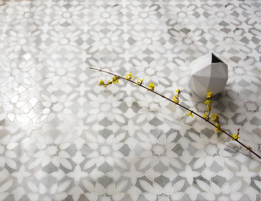 Valencia Stone Mosaic, by Paul Schatz for New Ravenna