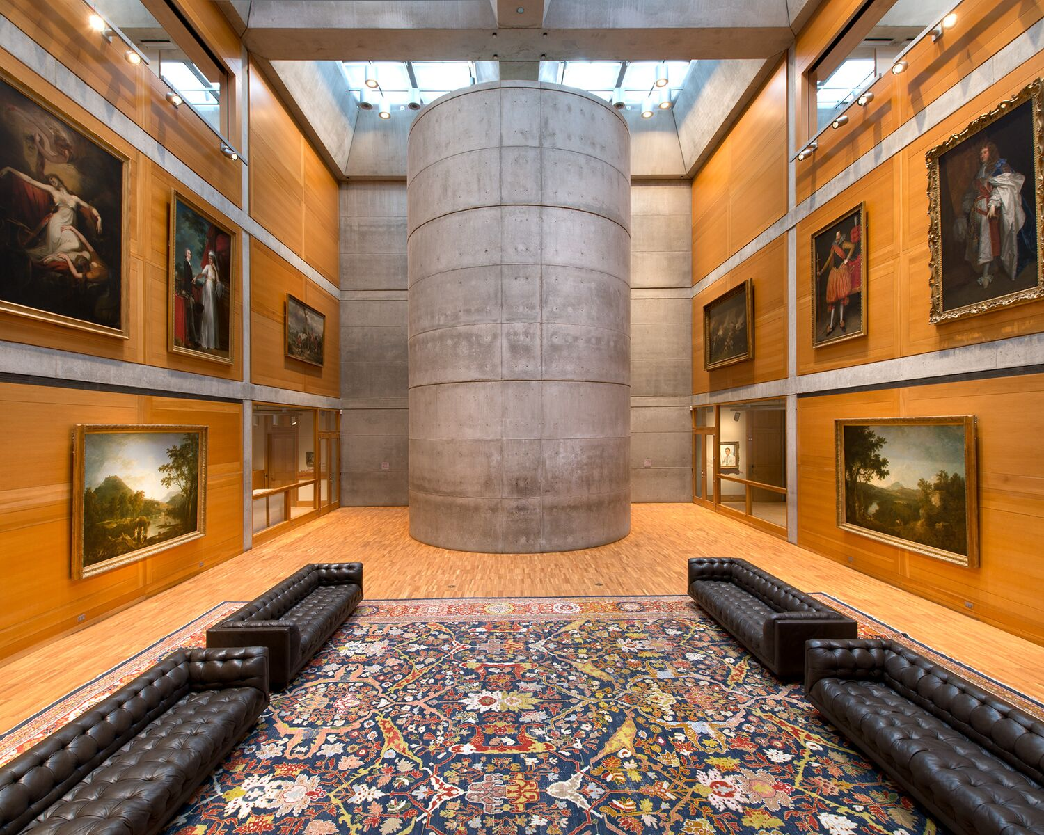 Yale Center for British Art Building Conservation Project by Knight Architecture; Richard Caspole