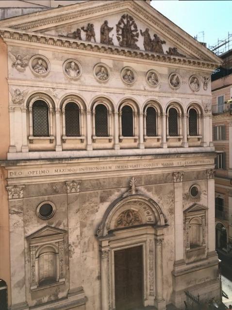 View from Santa Chiara Hotel