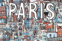 All the Buildings in Paris, by James Hancock