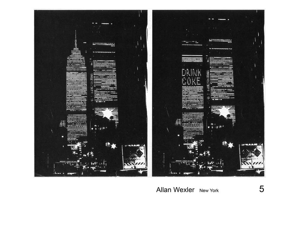 Allan Wexler: World Trade Center 3