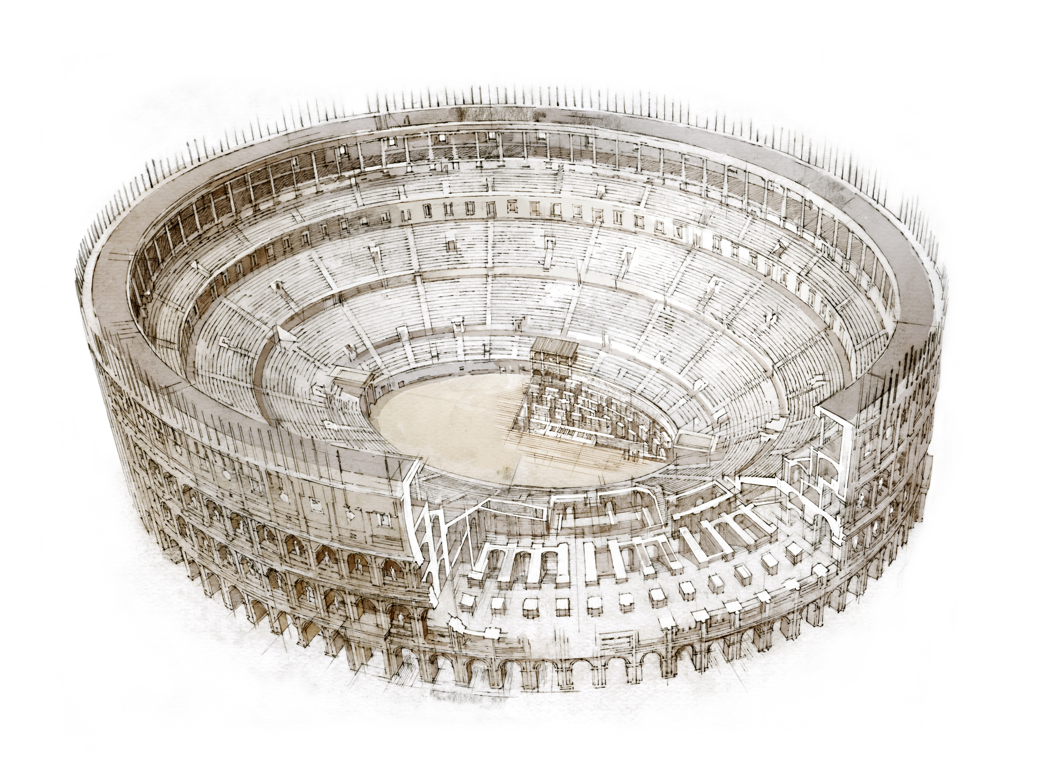 Colosseum, Architecture Inside-Out, Robbie Polley