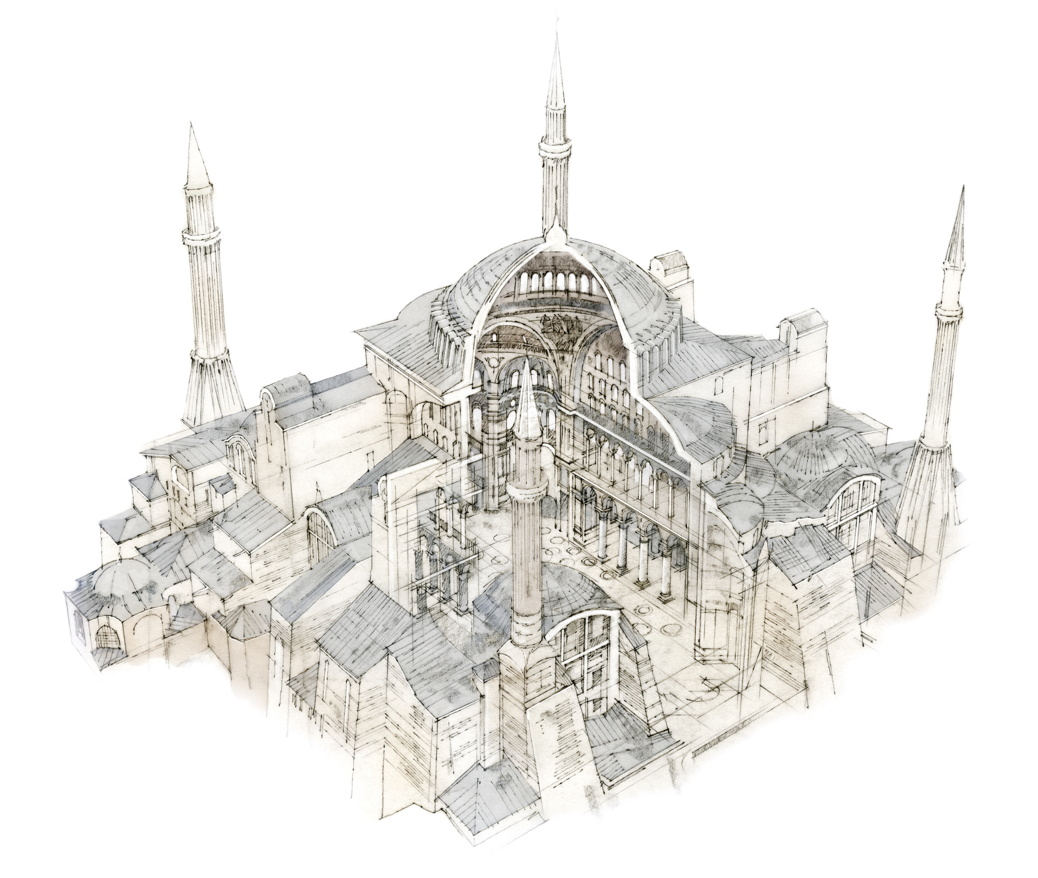 Hagia Sophia, Architecture Inside-Out, Robbie Polley,