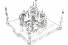 Taj Mahal, Architecture Inside-Out, Robbie Polley