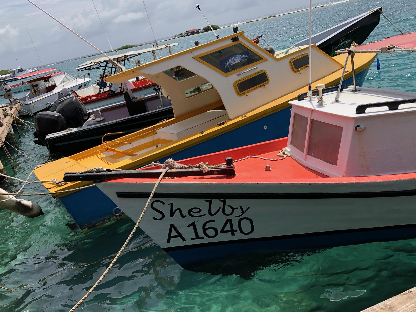 Arub: Fishing Boats at Savaneta
