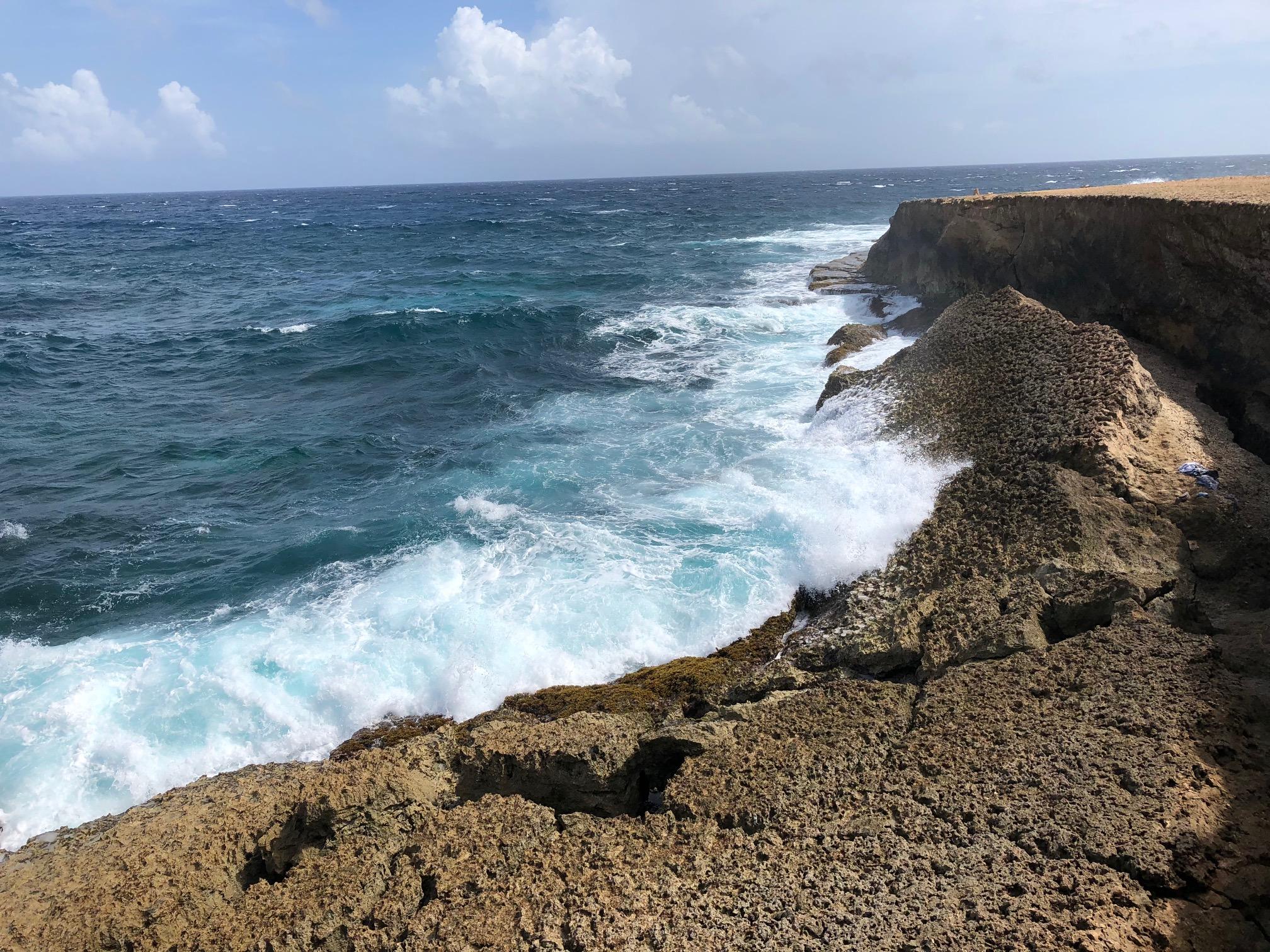 Aruba: Cave Pool Area