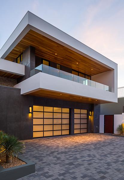 Exterior Garage; Photo Credit Ciro Coelho Photography
