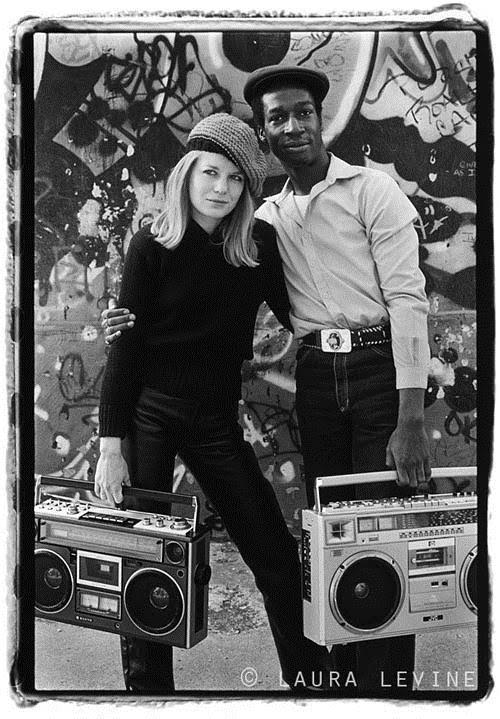 Tina Weymouth and Grandmaster Flash