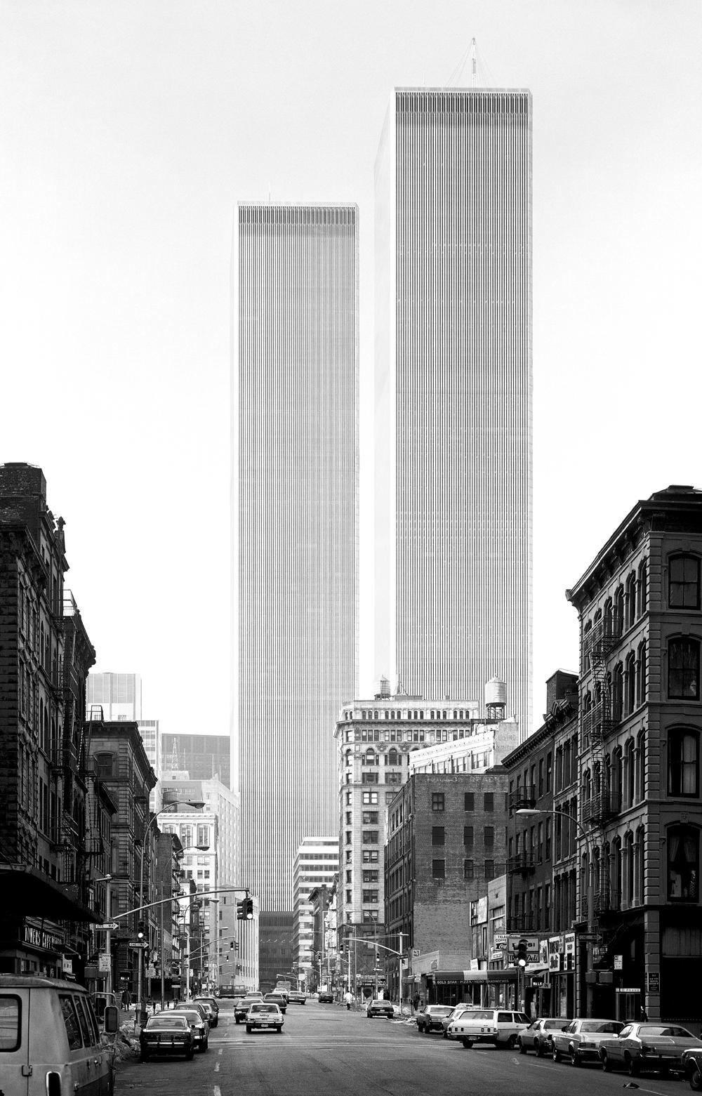 World Trade Towers, Yamasaki, Studio@BalthazarKorab.com