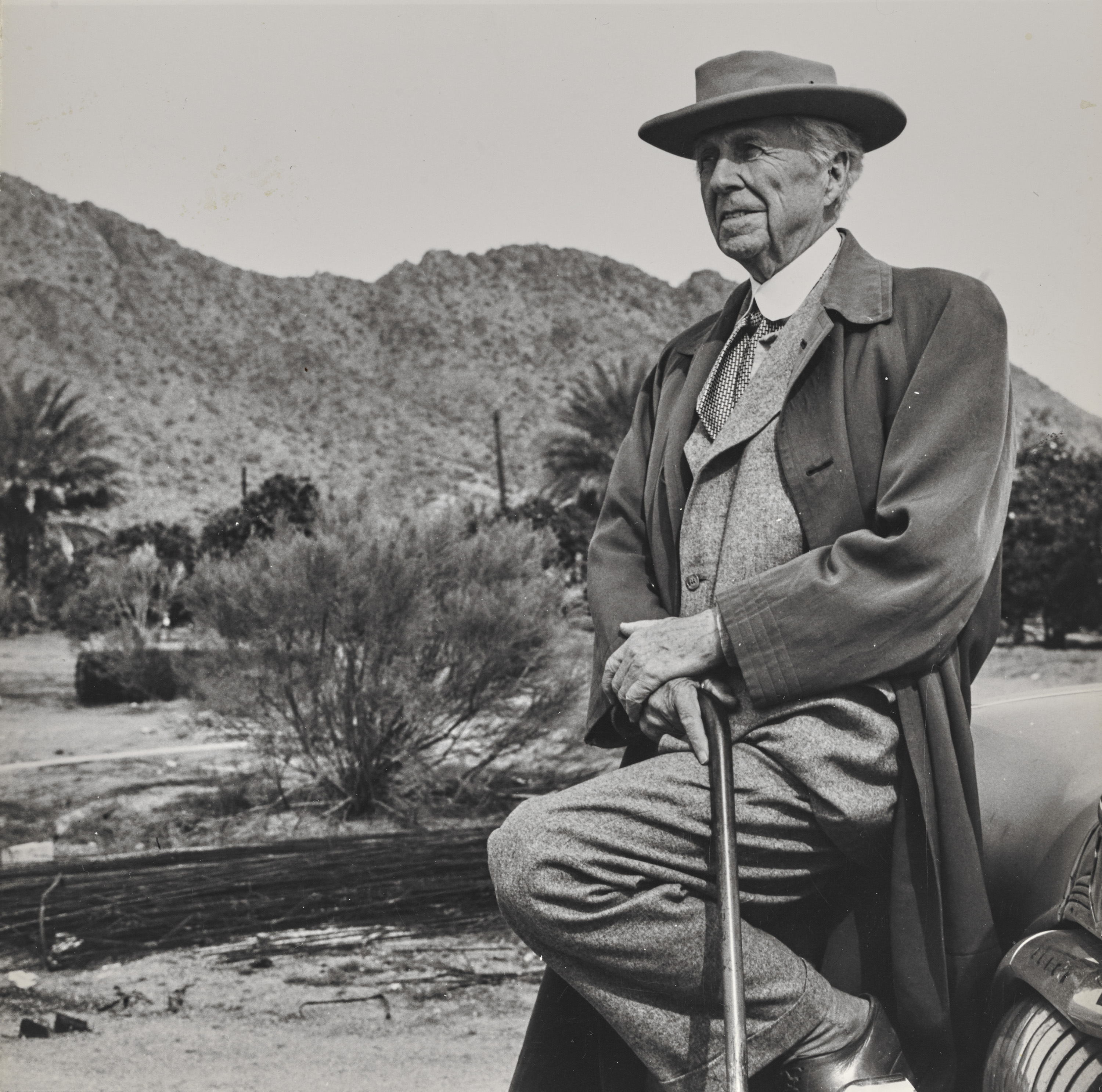 Unknown photographer. Frank Lloyd Wright. n.d. The Frank Lloyd Wright Foundation Archives