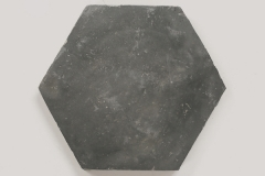 cle tile: Belgian reproduction, Flemish black hex