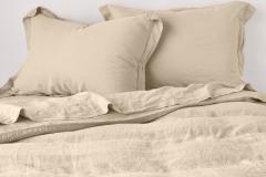 Bella Notte Linen Duvet Cover, Honeycomb