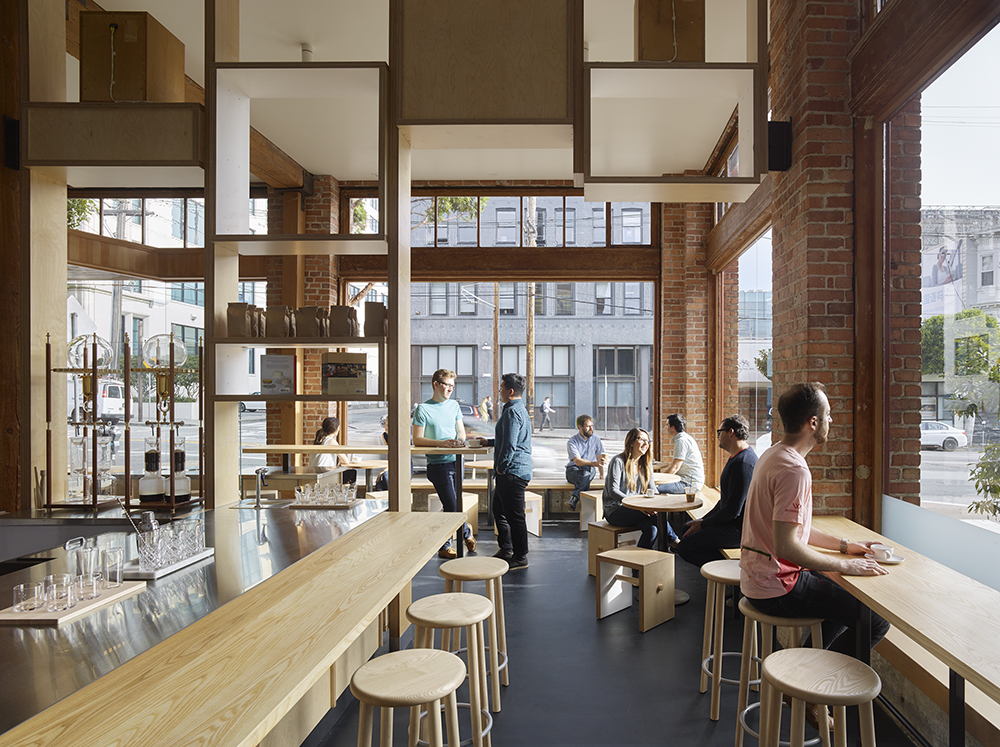 Bohlin Cywinski Jackson Is Branding Blue Bottle Coffee