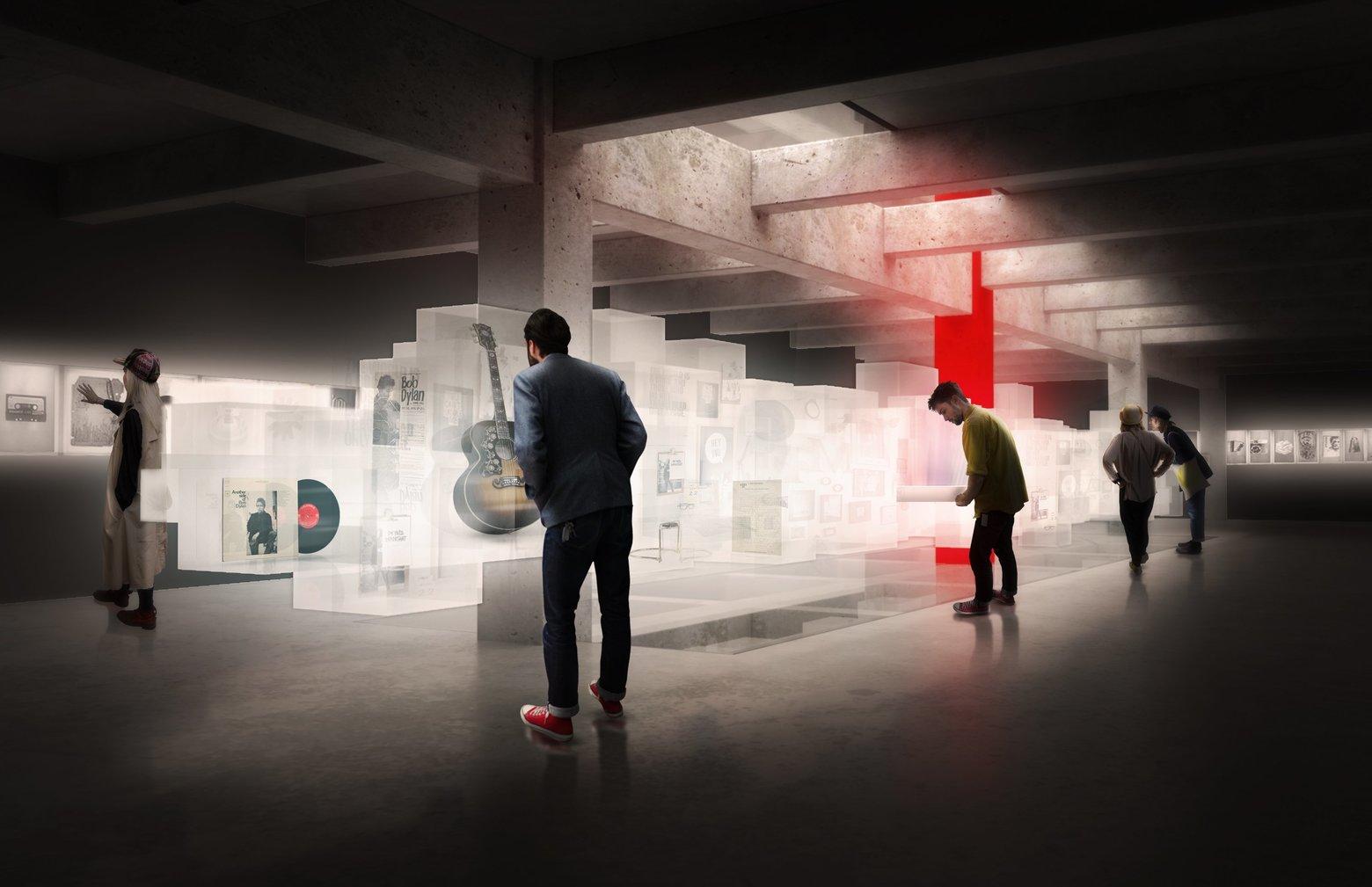 Bob Dylan Center; Olson Kundig Architects