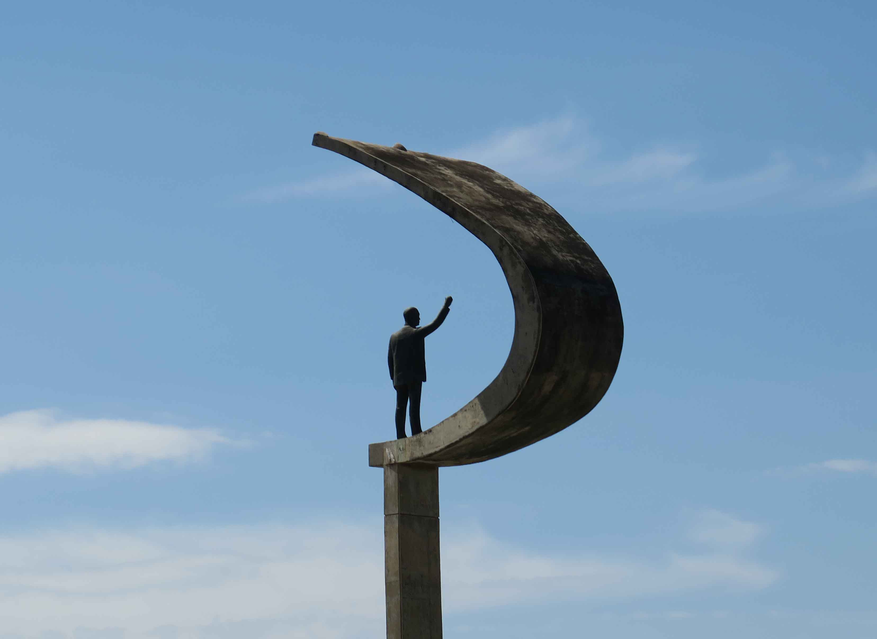 Memorial JK, Monument to President Juscelino Kubitchek, founder of Brasília; Photo by Paul Clemence
