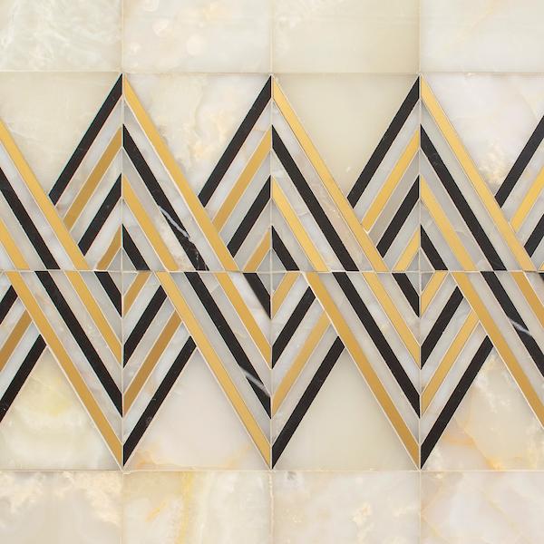 Tennant stone mosaic