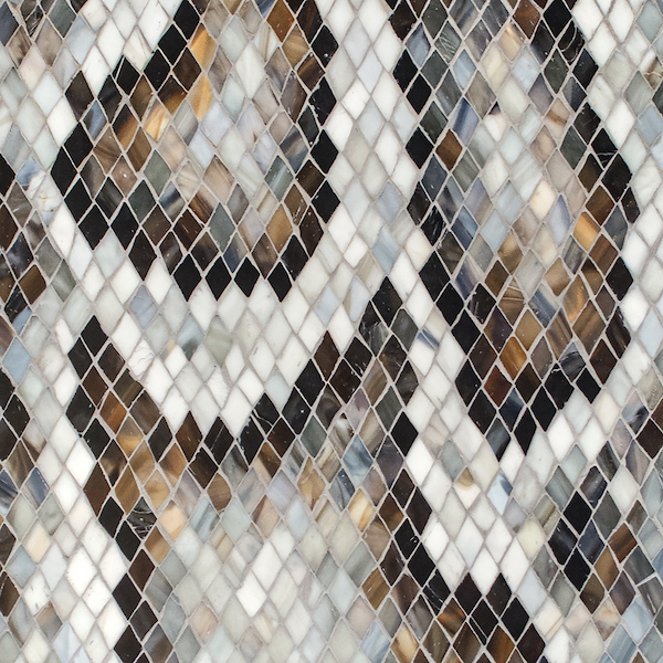Python Sea Glass™ mosaic, New Ravenna