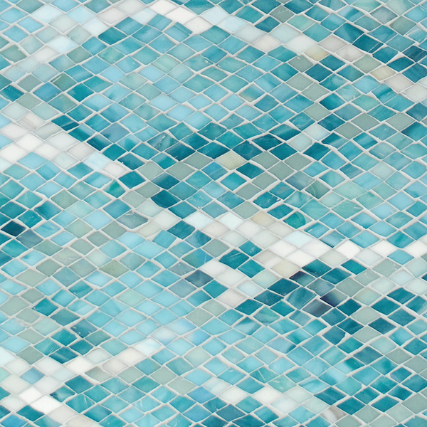 Waterweb Sea Glass™ mosaic