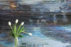 Black Pool jewel glass mosaic