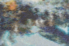 Black Pool Sea Glass™ mosaic