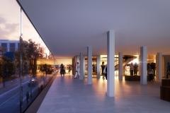 Promenade, Brown University Performing Arts Center, REX