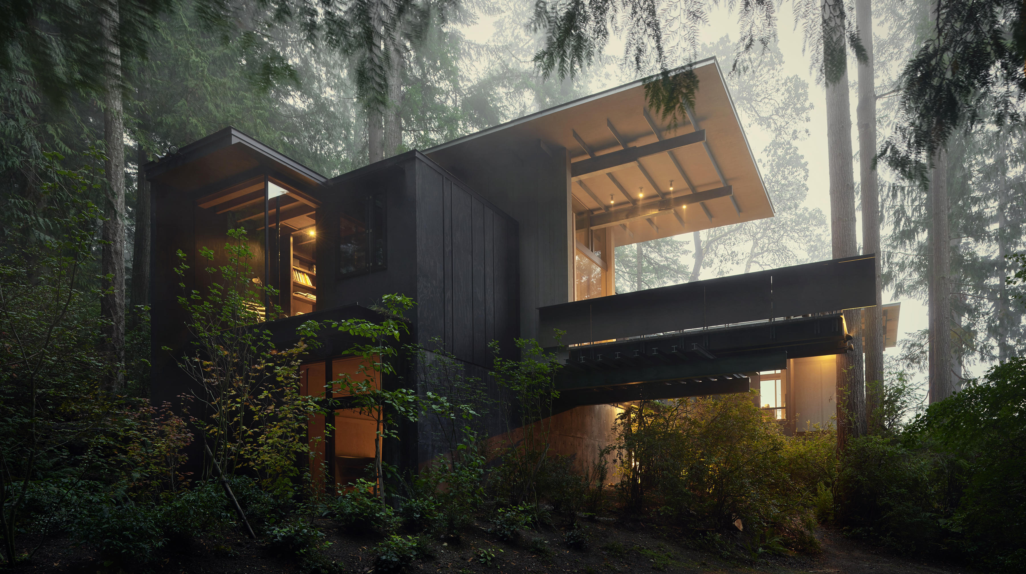 Olson Cabin, from Building Nature Art; Kevin Scott / Olson Kundig