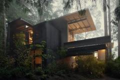 Olson Cabin, from Building Nature Art; Kevin Scott / Olson Kundig