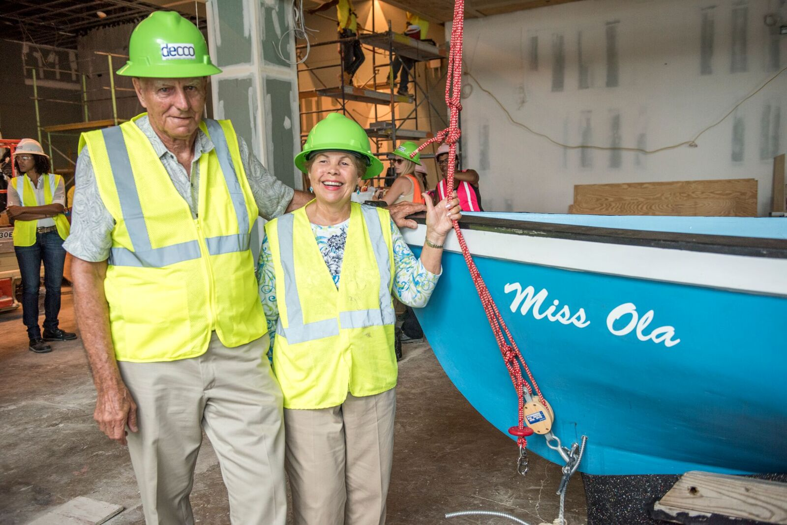 Catboat: Capt. Ken Jackson and Miss Ola