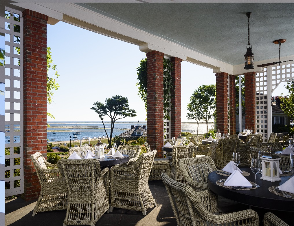 Chatham Bars Inn, Cape Cod, Veranda