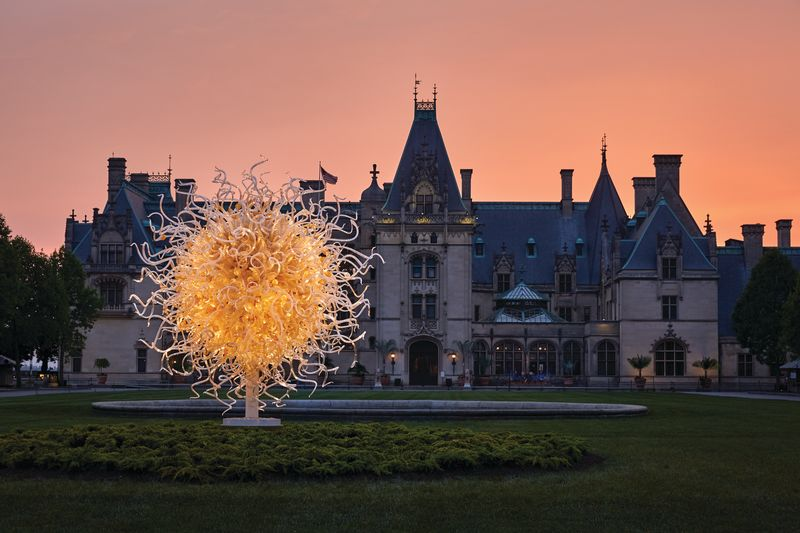The Sun: Chihuly at Biltmore