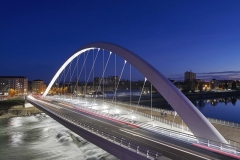 Cittadella Bridge, Richard Meier & Partners