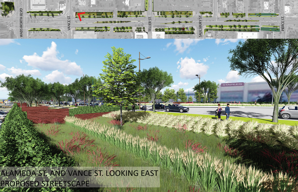 Alameda Parkway, Phase A1, Proposed