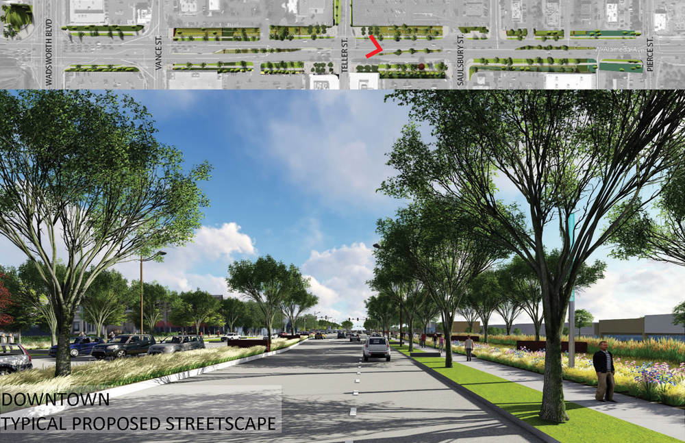 Alameda Parkway, Phase A2, Proposed