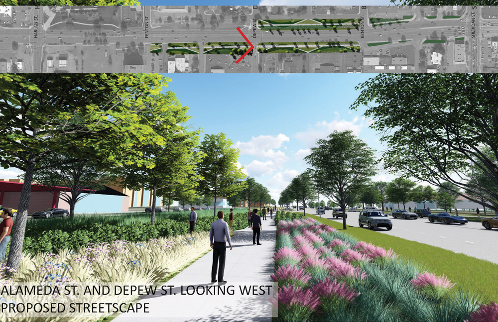Alameda Parkway, Phase B2, Proposed