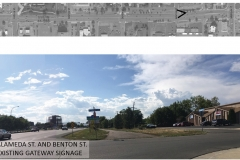 Alameda Parkway, Phase B1, Existing