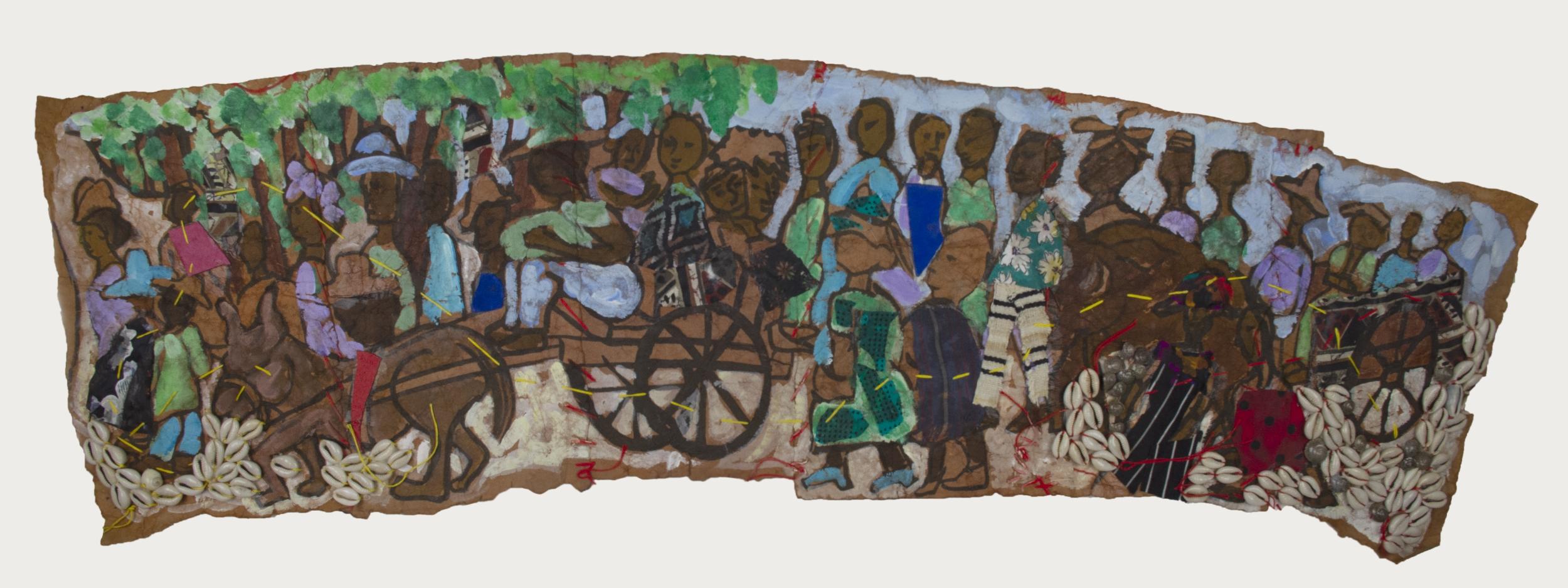 Aminah-Robinson-Untitled-Migration