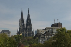 Cathedral View,  Cologne Penthouse by Oliver Weirich; Photo by Paul Clemence
