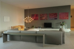 Living Area,  Cologne Penthouse by Oliver Weirich; Photo by Paul Clemence
