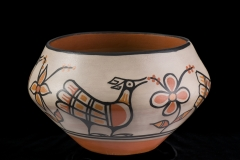 Dough Bowl. By Warren Coriz (Santa Domingo Pueblo), no date. National Cowboy & Western Heritage Museum.
