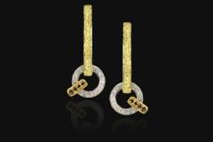 Anemoni Earrings, Corrado Sacchi