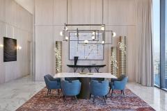 Las Vegas Cosmopolitan Penthouse, by Daun Curry Design Studio