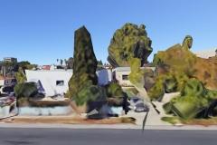 • Ryan Jeffery —Street View: Clayton / Talmadge 2017, series of 10 digital prints, 11 x 17 each one