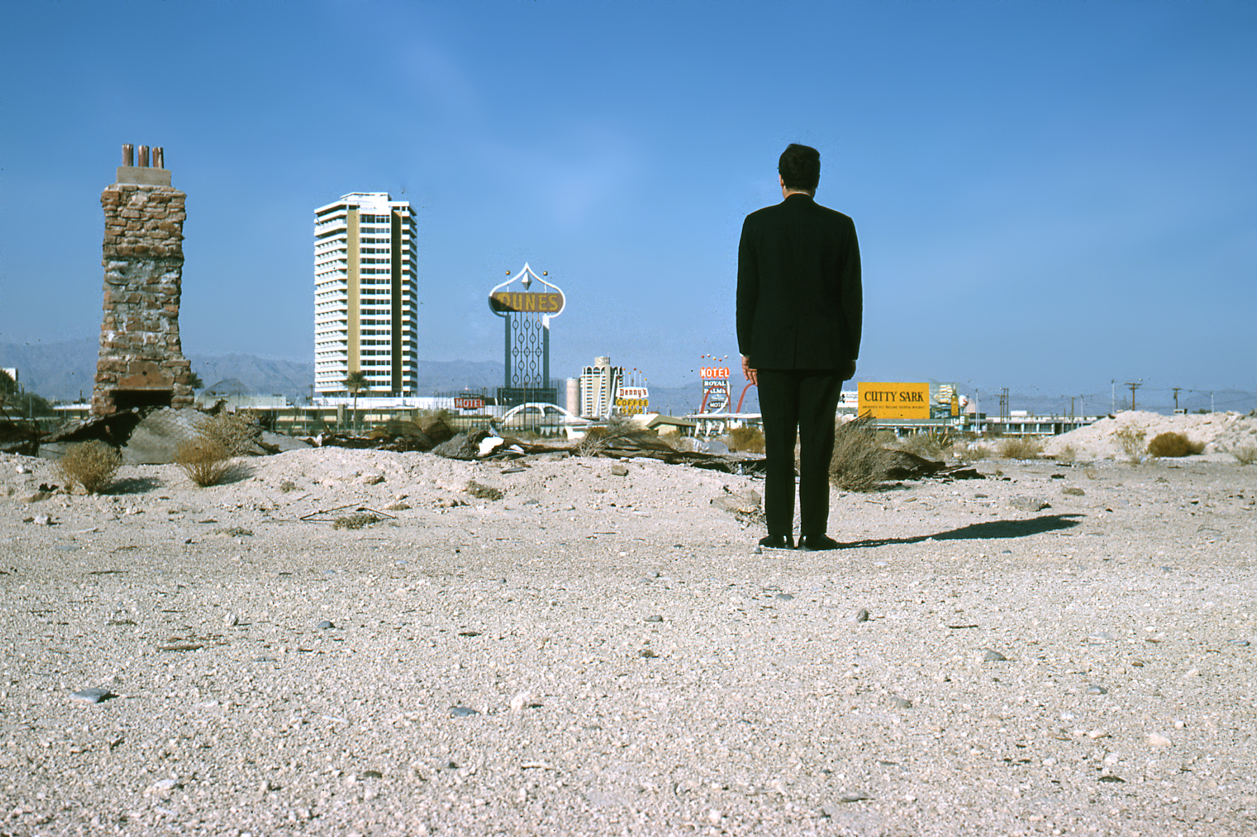 Robert Venturi, Las Vegas, 1966, Photo by Denise Scott Brown, Venturi, Scott Brown and Associates, Inc.