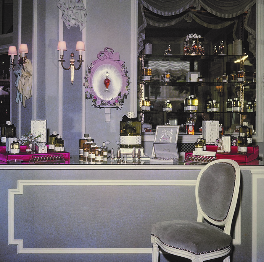 Dior and His Decorators by Maureen Footer (Vendome; Sept 2018), ParfumeBoutique; Courtesy of the Christian Dior Parfums collection