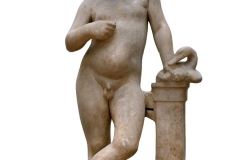 Statue of a Boy with a Goose - 3rd century BC, Marble, National Archaeological Museum, Athens, 2772 © Hellenic Ministry of Culture and Sports–Archaeological Receipts Fund
