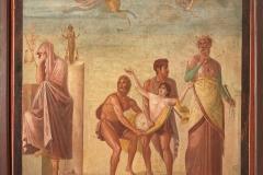 Wall Painting with Scene from the Sacrifice of Iphigeneia - ca. 62–79 AD, © Museo Archeologico Nazionale di Napoli/Ministero dei Beni e delle Attività Culturali e del Turismo